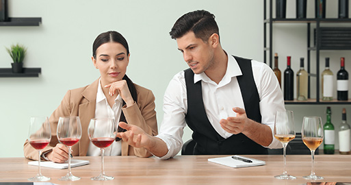Extensive Wine Training