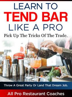 Tend a Bar Like a Pro